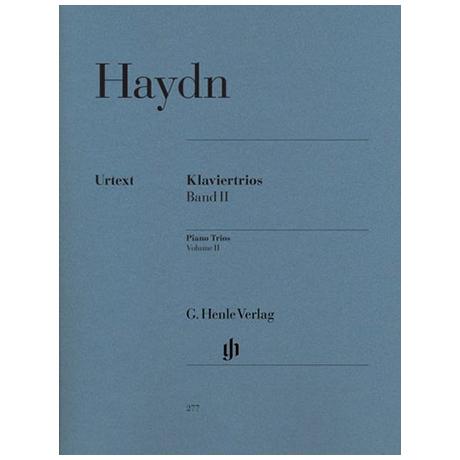 Haydn, J.: Klaviertrios Band 2 Hob XV:5-14