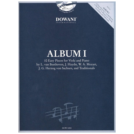 Leibowitsch, L.: Album Vol.1(+CD)