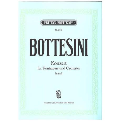 Bottesini, G.: Konzert h-moll für Kb + Orchester