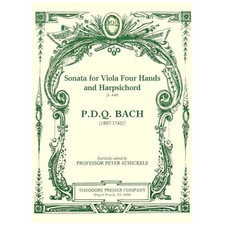 Bach, P. D. Q.: Sonata for Viola Four Hands and Harpsichord S. 440
