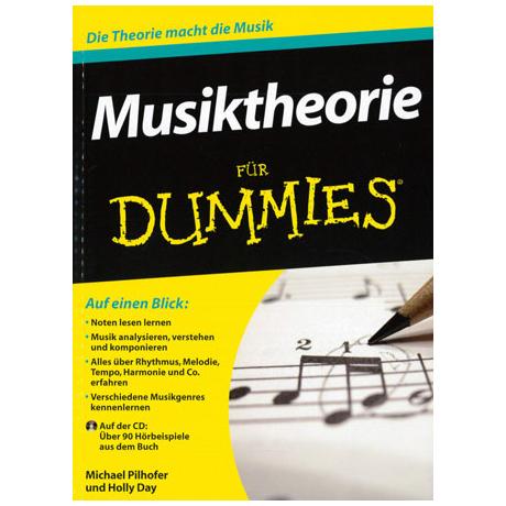 Pilhofer, M.: Musiktheorie für Dummies (+CD)