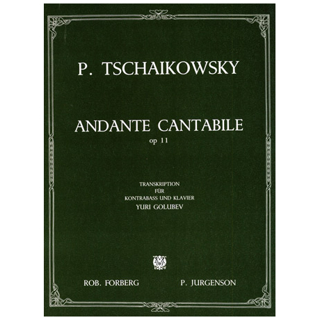 Tschaikowsky, P. I.: Andante Cantabile op.11