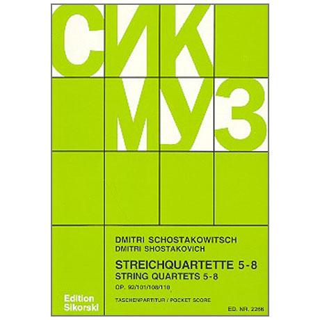 Shostakovich, D.: String Quartets Nos. 5-8