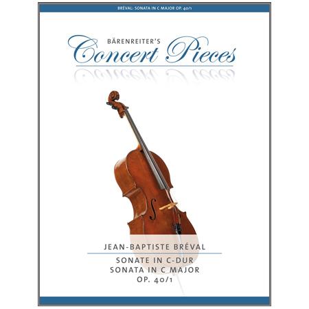 Bréval, J.: Sonate Op. 40/1 C-Dur