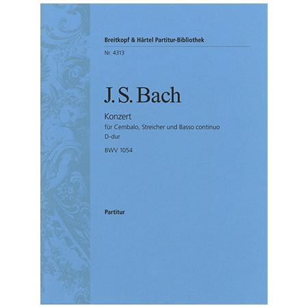 Bach, J. S.: Cembalokonzert A-Dur BWV 1055