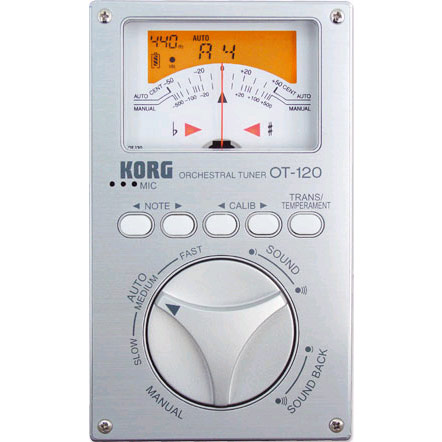 Accordeur Korg OT-120