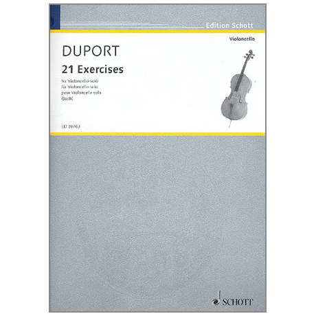 Duport, J.L.: 21 Exercises
