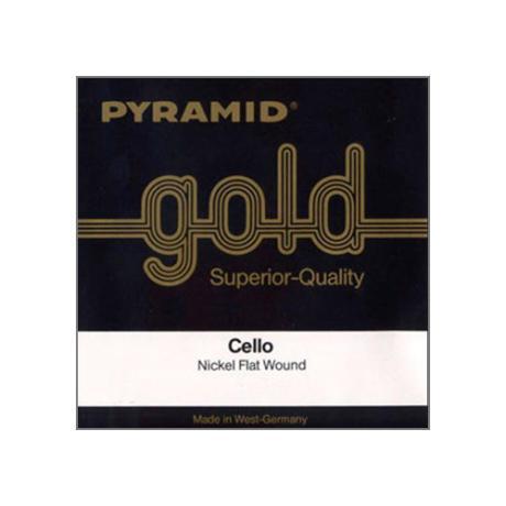 PYRAMID Gold corde violoncelle La