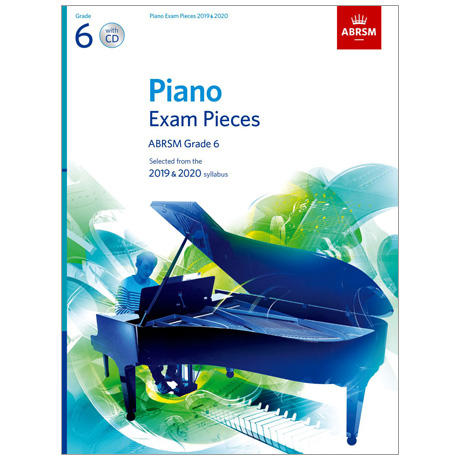 ABRSM: Piano Exam Pieces Grade 6 (2019-2020) (+CD)