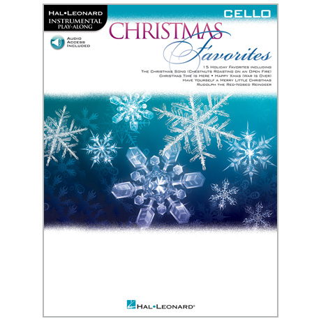 Christmas Favorites for Cello (+Online Audio)