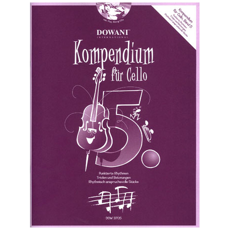 Kompendium für Cello - Band 5 (+ 2 CD's)