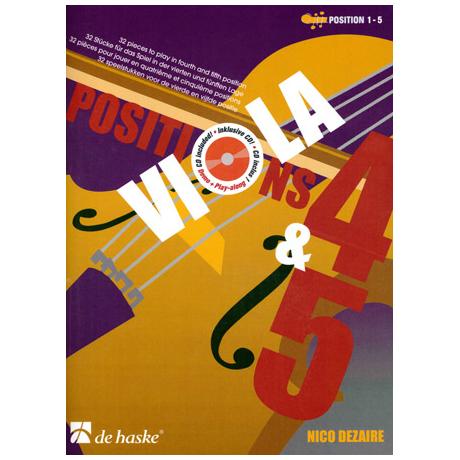 Dezaire, N.: Viola Positions 4-5 (+CD)