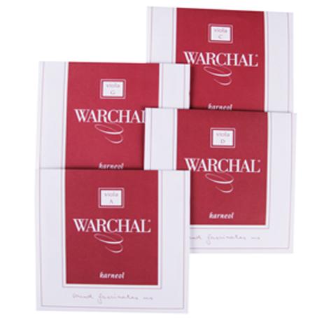 WARCHAL Karneol cordes alto JEU