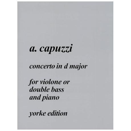 Capuzzi, G. A.: Concerto D-Dur