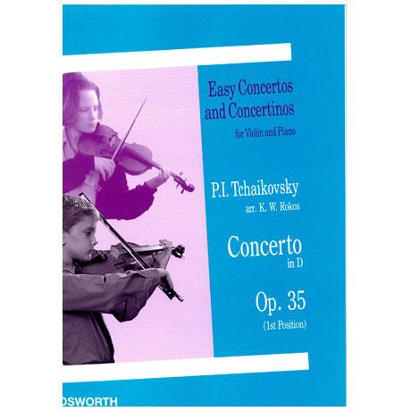 Tschaikowski, P. I.: Violinkonzert Op. 35 D-Dur