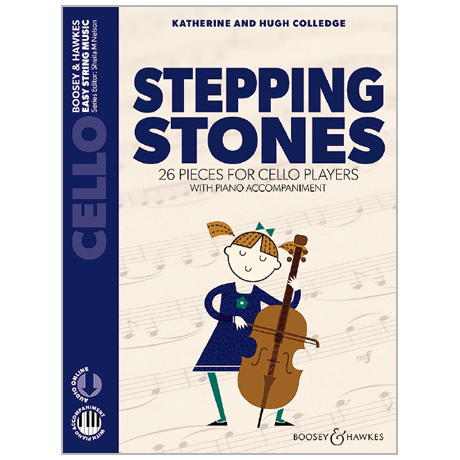 Colledge, K. & H.: Stepping Stones for Cello (+Online Audio)