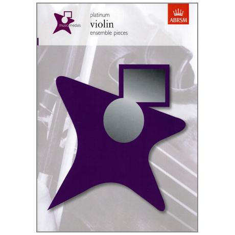 ABRSM Music Medals Violin Ensemble Pieces - Platin