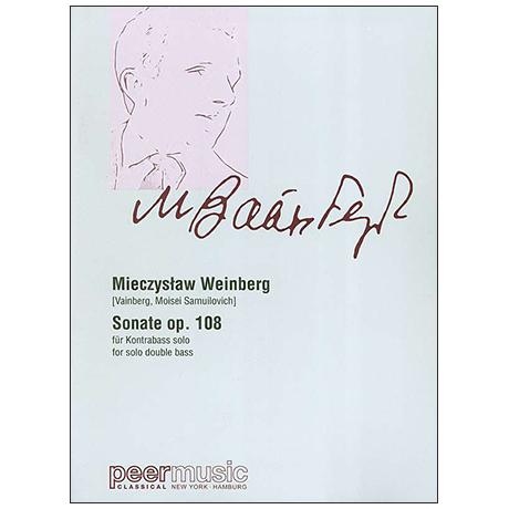 Weinberg, M.: Kontrabasssonate Op. 108 (1971)