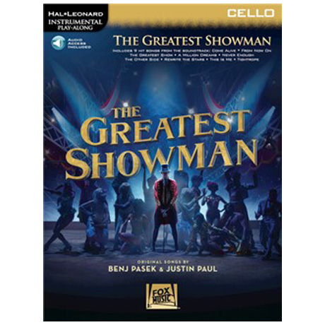 The Greatest Showman for Cello (+Online Audio)