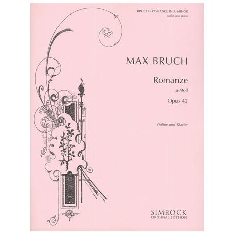 Bruch, M.: Romanze Op. 42 a-Moll