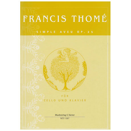 Thomé, F.: Simple aveu Op. 25