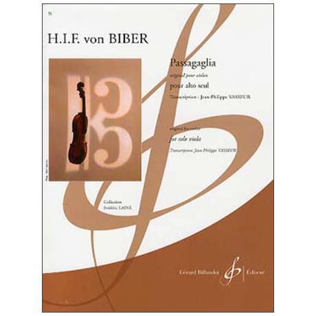 Biber, H. I. F. v.: Passagaglia
