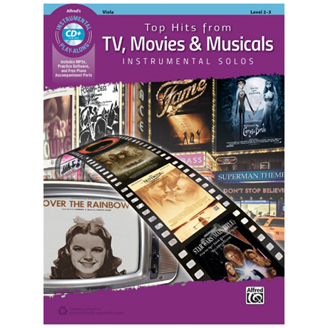 Top Hits From TV, Movies & Musicals (+MP3-CD)
