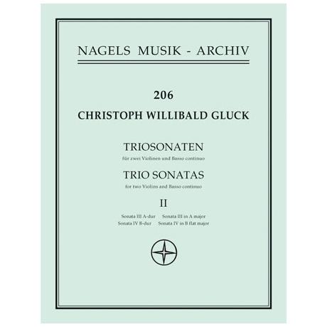 Gluck, Chr. W. v.: Triosonaten Band 2