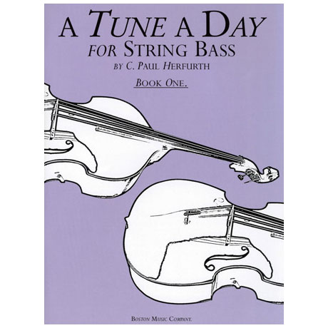 A Tune a day for String Bass Band 1