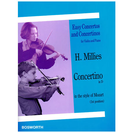 Millies, H.: Concertino D mayor in the style of Mozart
