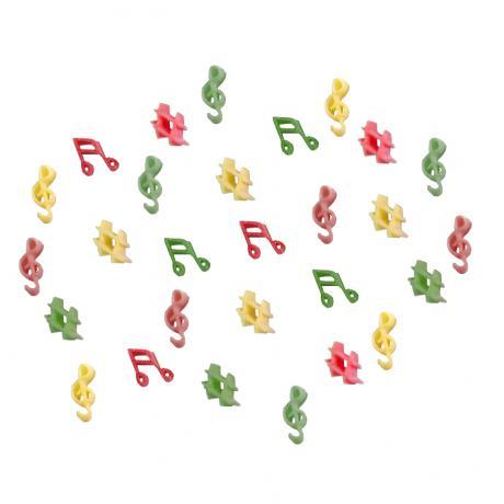 LA MUSICA Pâtes en forme de notes
