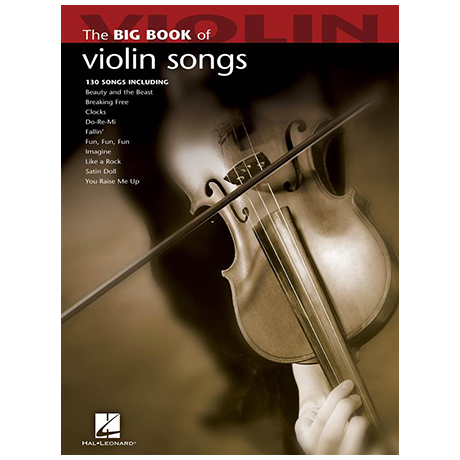 The Big Book of Violin Songs