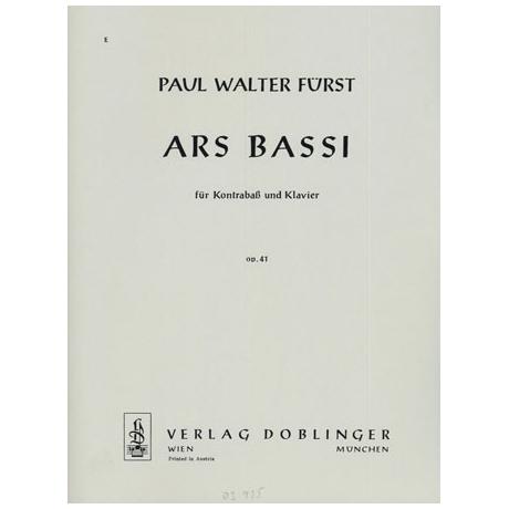 Fürst, P. W.: Ars Bassi Op. 41