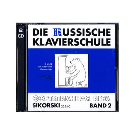 Nikolajew, A.: Die russische Klavierschule 2 – CDs