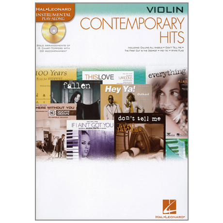 Contemporary Hits (+CD)