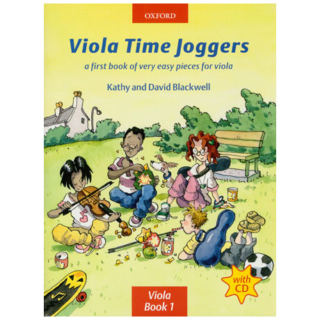 Blackwell, K. & D.: Viola Time Joggers - Band 1 (+CD)