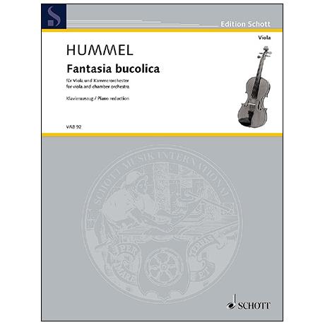 Hummel, B.: Fantasia bucolica für Viola und Kammerorchester Op. 13f (1956)