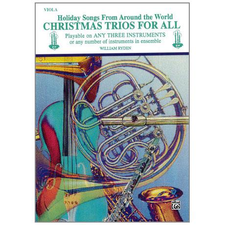 Ryden, W.: Christmas Trios for All – Viola