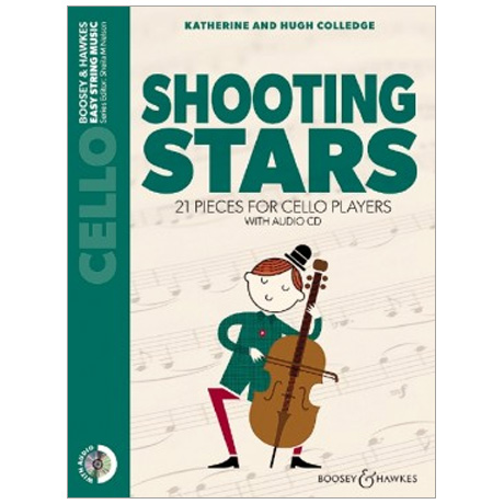 Colledge, K. & H.: Shooting Stars for Cello (+CD)