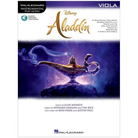 Aladdin for Viola (+Online Audio)