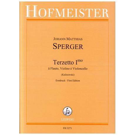 Sperger, J. M.: Terzetto primo G-Dur