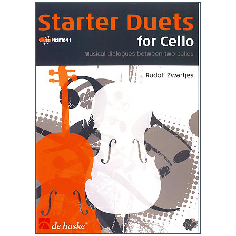 Zwartjes, R.: Starter Duets : for 2 cellos