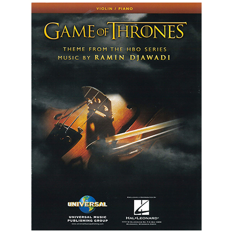 Djawadi, R.: Game of Thrones Theme for Violin
