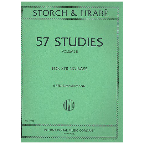 Storch, J. E. / Hrabě, J.: 57 Studies Vol. 2 (Nr. 32-57)