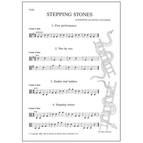 Stepping Stones : Für Viola