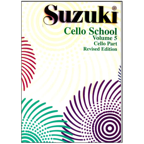 Suzuki Cello School Vol. 5