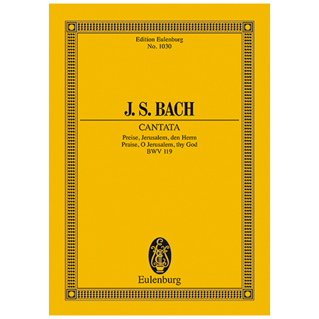 Bach, J. S.: Kantate BWV 119