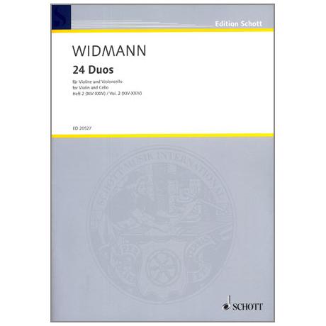 Widmann, J.: 24 Duos - Band 2
