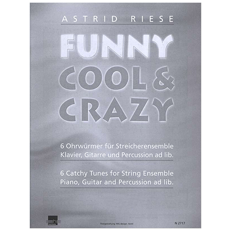 Riese, A.: Funny Cool & Crazy – Klavier