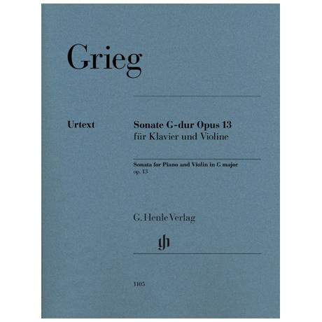 Grieg, E.: Violinsonate Op. 13 G-Dur
